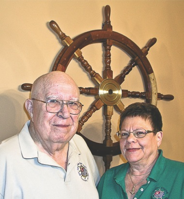 Bill and Natalie Witty began dating after they met while volunteering with the U.S. Power Squadrons, a non-profit group that educates people on boating safety. (Photo provided)