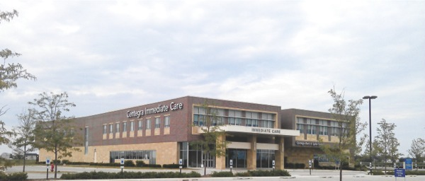 After being approved by the Illinios Health Facilities Services and Review Board, Centegra Health Systems can build a hospital on the grounds of its immediate care center (pictured) and Health Bridge Fitness Center on Algonquin Road. (Photo by Mason Souza/Sun Day)