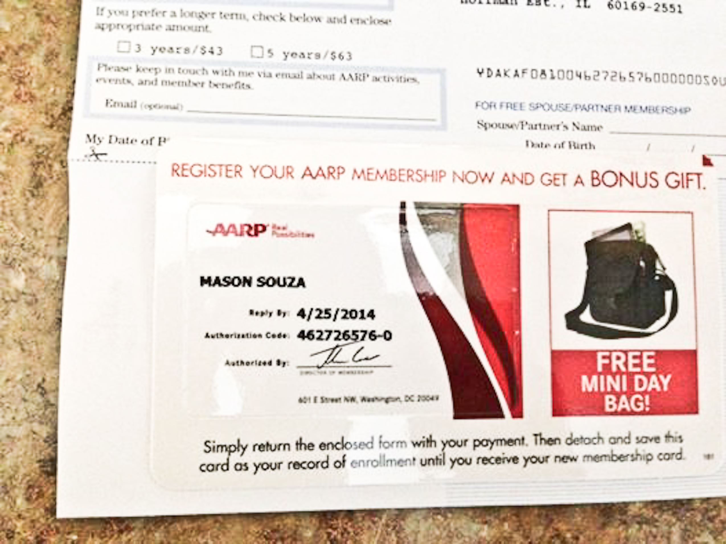 An AARP invitation 27 years early, but flattering still | My ...