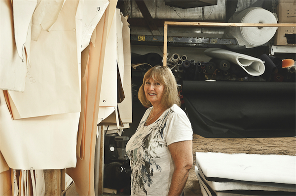 Sun City resident, inventor, and entrepreneur Ingrid Kosar heated up the pizza industry, and others, with her thermal bags. (Photo by Chris LaPelusa/Sun Day)