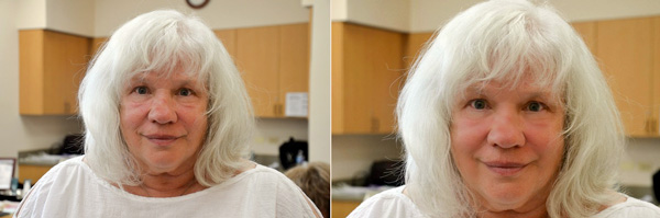 Left: Before. Right: After. (Photos provided)
